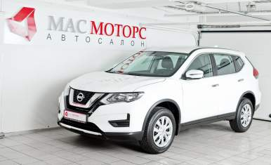 Nissan X-Trail New Белый